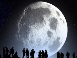 """Secoli di luna"" a seguire osservazione astronomica"