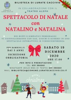 Spettacolo di Natale: Natalino e Natalina