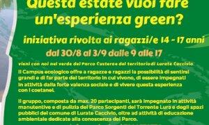 Esperienza green per ragazzi/e dai 14 ai 17 anni