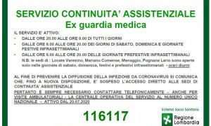 Nuovo numero unico 116117 continuità assistenziale (Ex Guardia Medica)