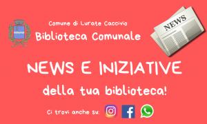 News & Iniziative Biblioteca