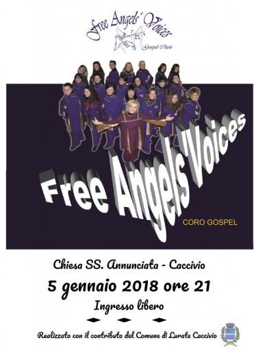 Locandina concerto Gospel 2018